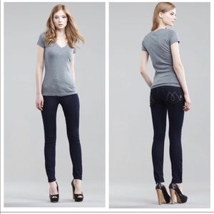 Mother Dark Wash The Looker Skinny Jeans